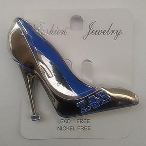 Sorority Zeta Shoe Pin